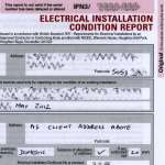 Sample Electrical Installation Condition Report
