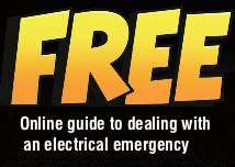 "Click here for the web version of our ""GUIDE TO DEALING WITH AN ELECTRICAL EMERGENCY"""