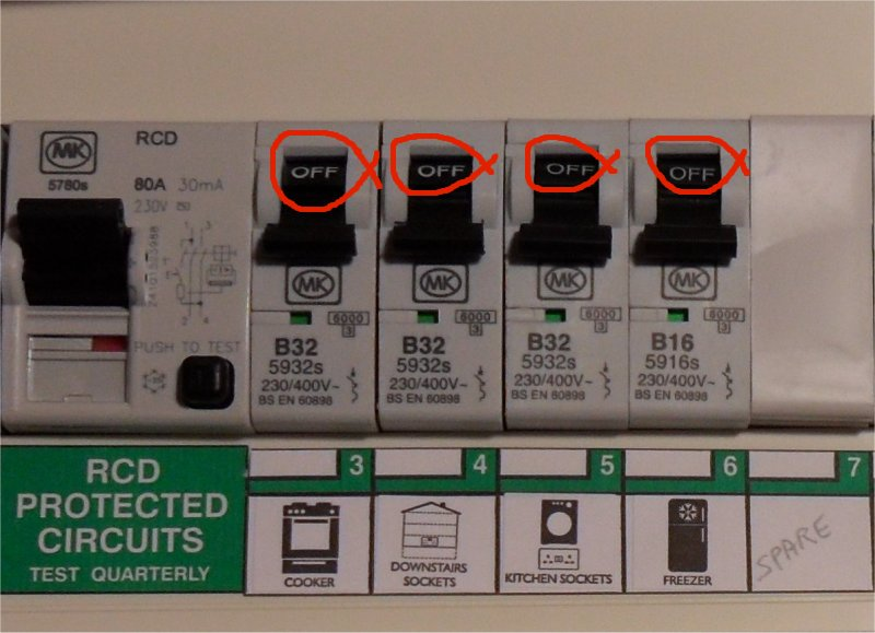 eec247 Guide to dealing with an Electrical Emergency | Wylex Fuse Box Rcd |  | eec247