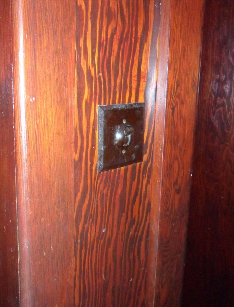 Electrical Installations Before 1930 1950 S Light Switch Wiring Diagram A 1950s Lincoln Style Lektrik We Found In 2011