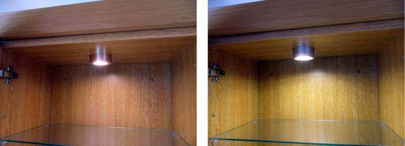 Comparison Of Halogen And LED In Cabinet Display Lighting
