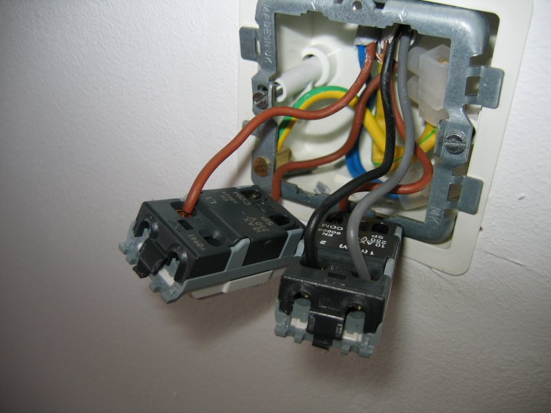 Wiring A Light Switch And A Bathroom Fan